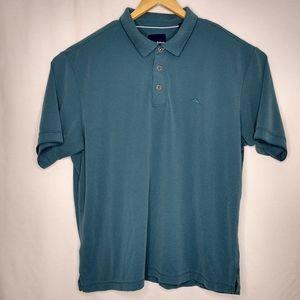 Tommy Bahama XXL Green Short Sleeve Logo Polo